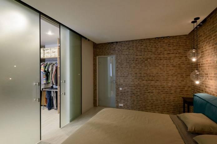Шкаф из гипсокартона (46 фото): дизайн моделей с дверцами в интерьере прихожей и коридора