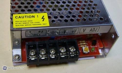 Монтаж и подключение осветительной ленты из диодов