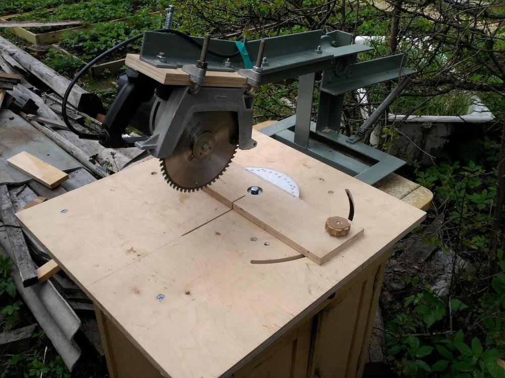 Циркулярная пила и станок своими руками: варианты конструкции, способы изготовления, чертежи