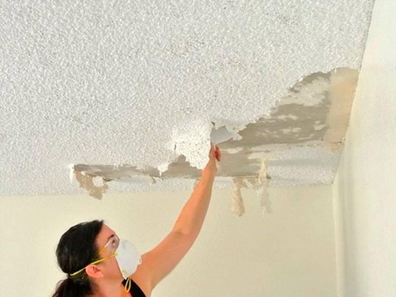 Шпаклевка потолка: как выполнить работы самостоятельно?