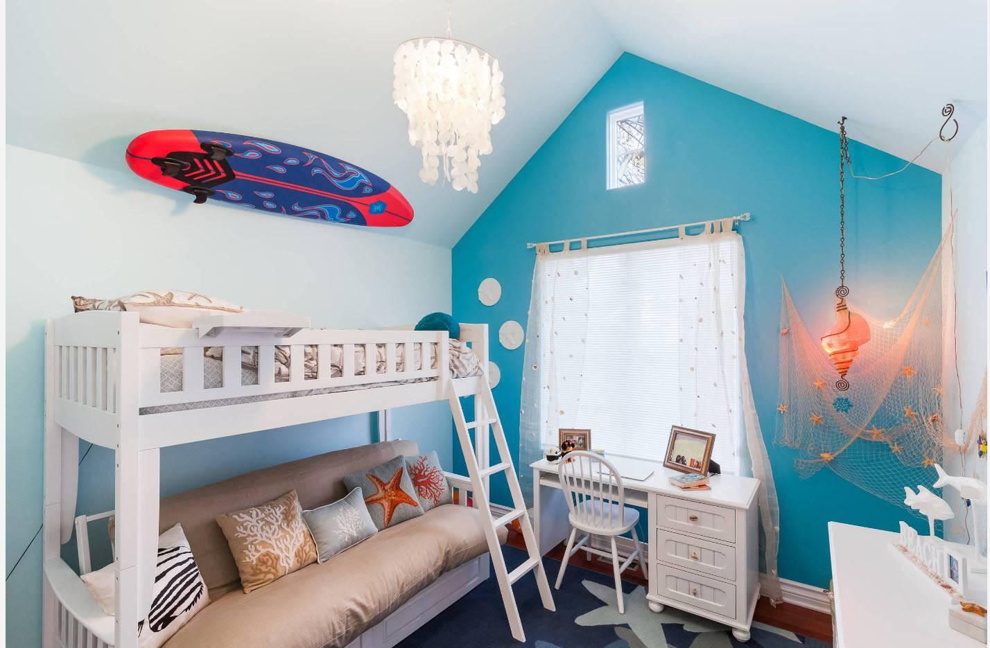 Потолок в детской (116 фото): красивый потолок в комнате, какой лучше сделать