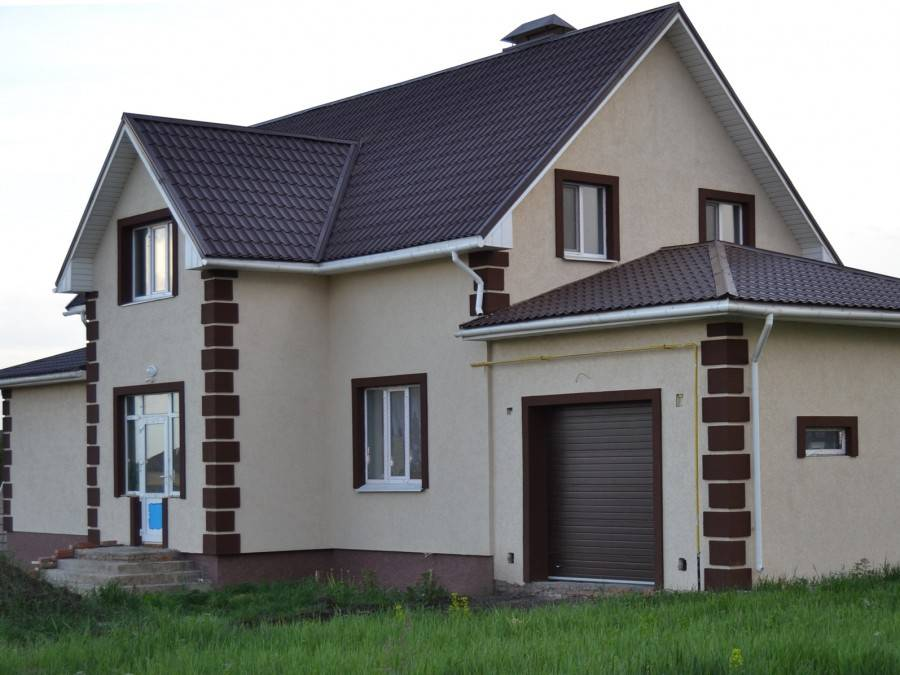 Красивая отделка фасада дома: 125 фото и обзор современных идей и вариантов отделки