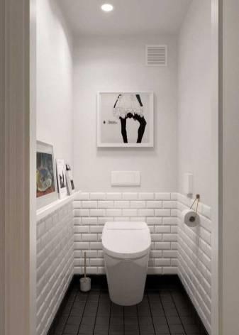 Туалет в черных тонах: преимущества и идеи дизайна