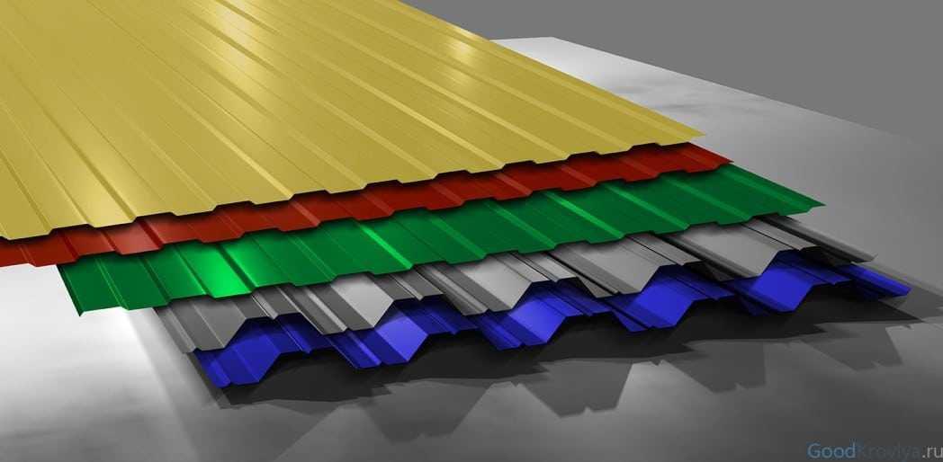 Особенности исчисления размеров профлиста для забора и крыши