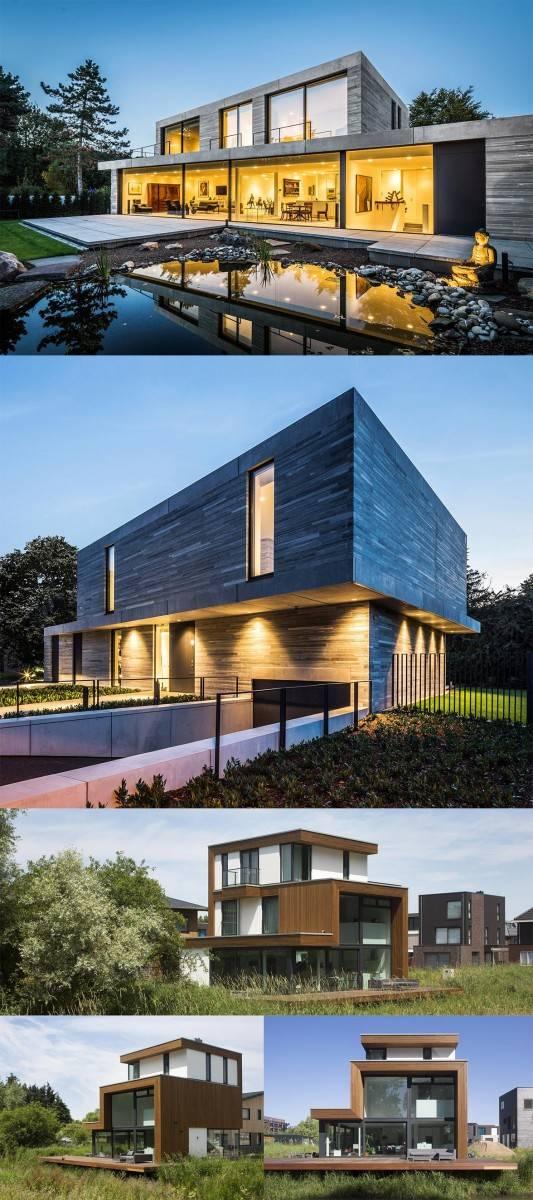 Дома с плоской крышей: 95 фото красивых, стильных идей и сочетаний для частного дома