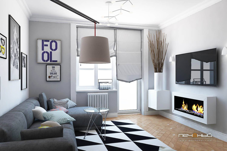 Малогабаритная квартира в скандинавском стиле - лучшие идеи дизайна интерьера, 50 фото