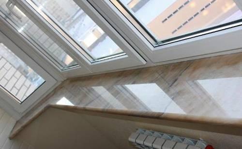 Крепление подоконника на балконе - пвх окна, балконы, остекление, аксессуары
