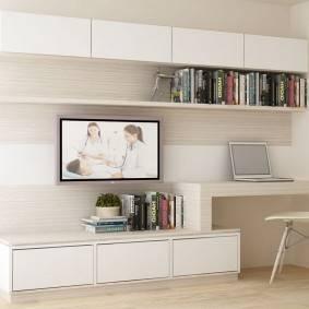 Письменный стол: фото, виды, материалы, дизайн, цвет, формы, расположение в комнате
