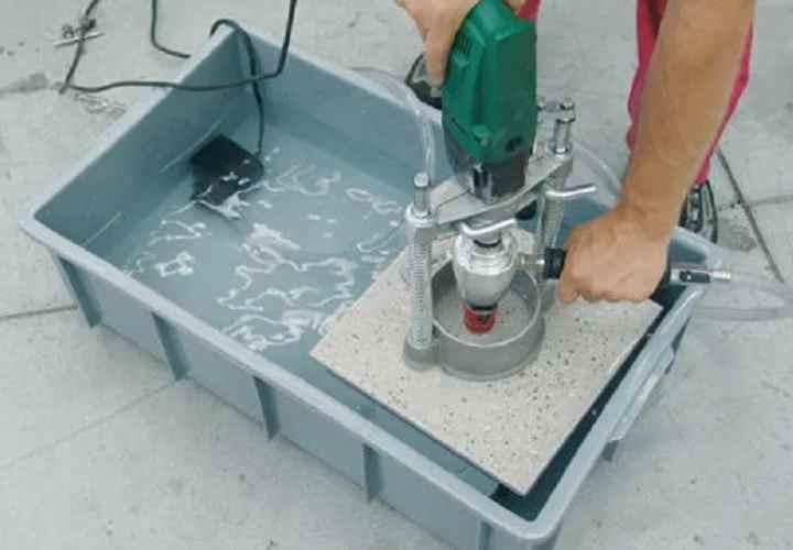 Как резать плитку болгаркой — основные правила работы, типы резки