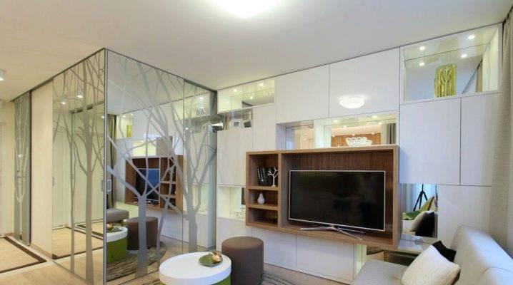 Интересные варианты оформления однокомнатной квартиры площадью 40 кв. м