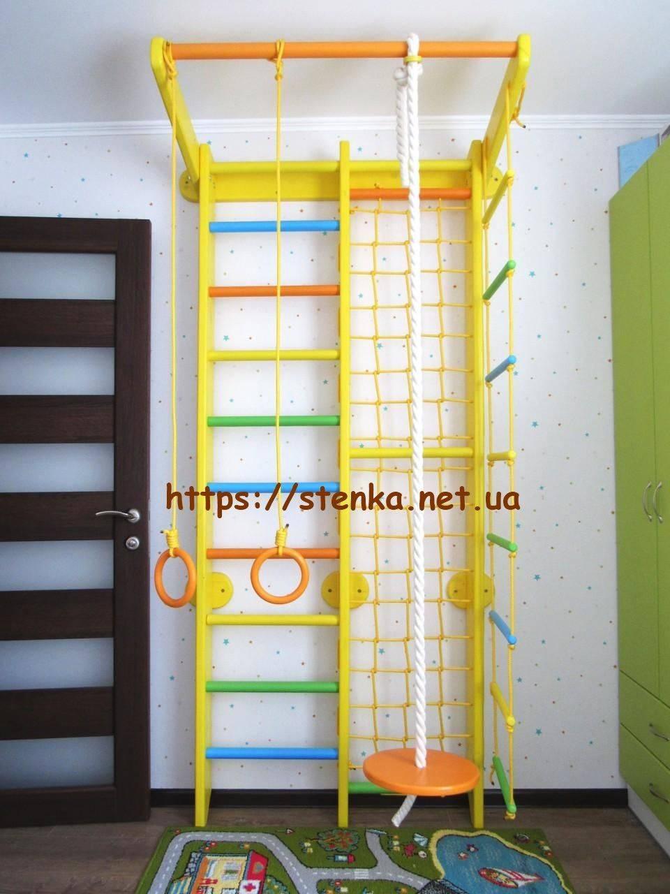 Детская шведская стенка: фото основных разновидностей, конструкций, вариантов и моделей
