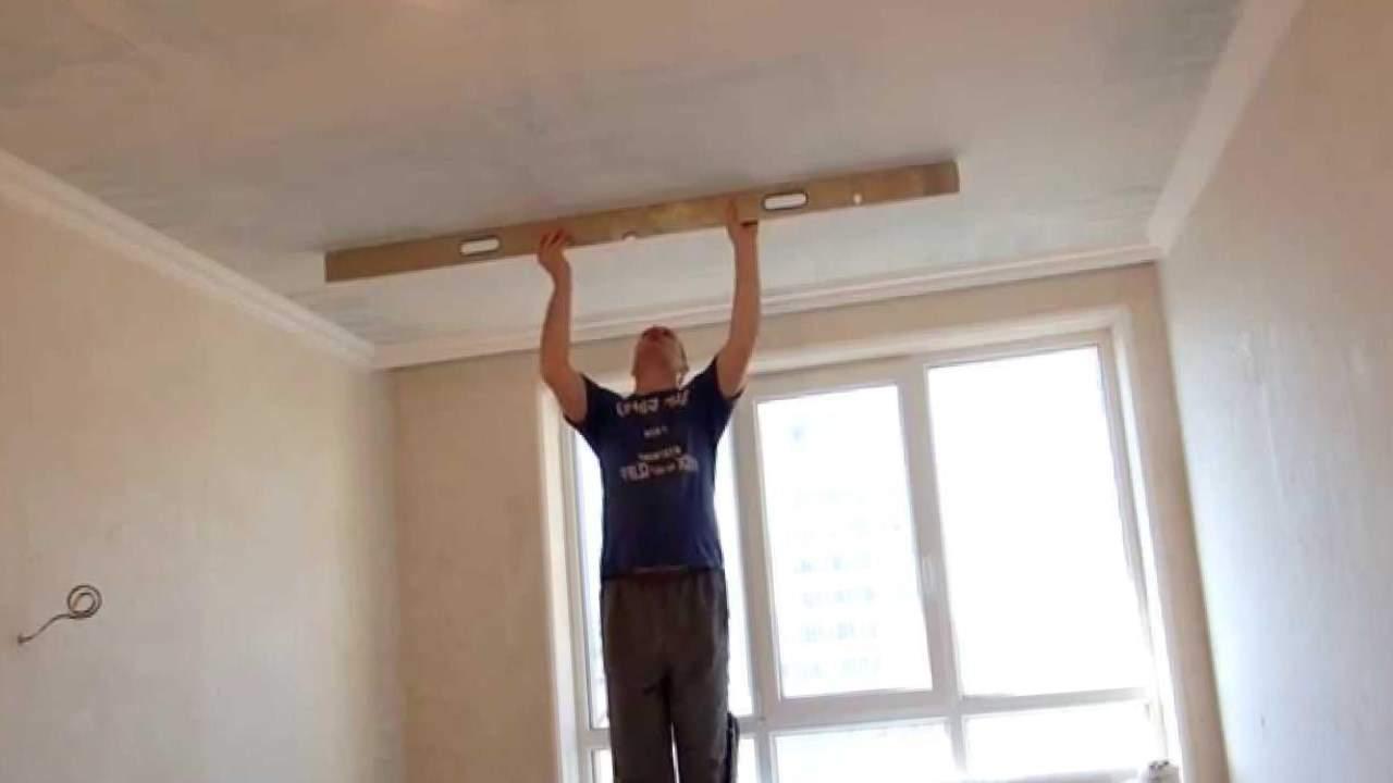 Как шпаклевать потолок из гипсокартона своими руками правильно и без лишних затрат?