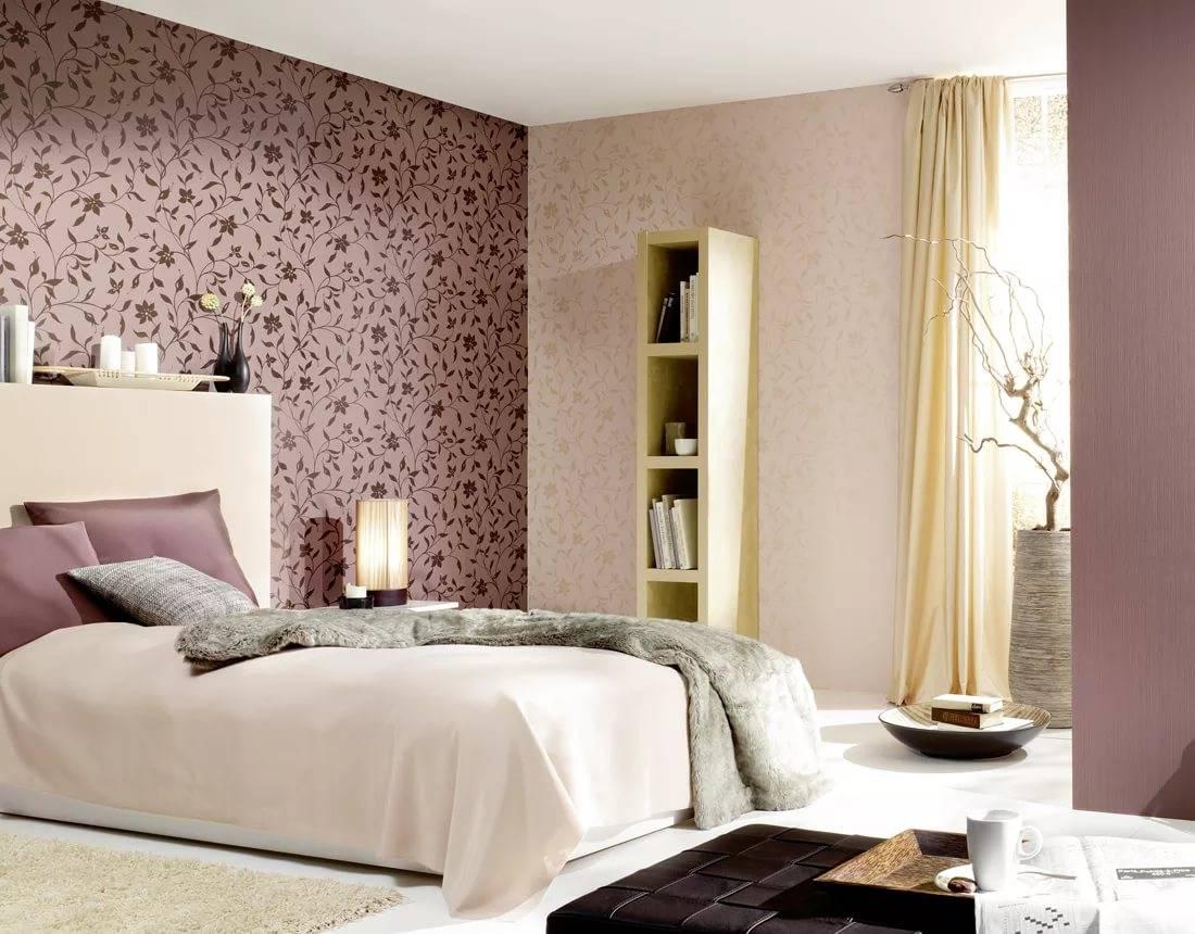 Обои для спальни: 95 фото и красивых идей дизайна