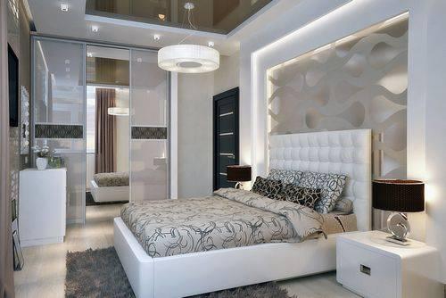 Спальня в стиле модерн - современный и уютный интерьер (195 фото)