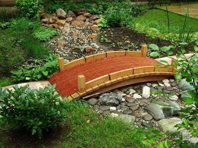 Декоративный мостик для сада своими руками: фото лучших вариантов, идеи создания из дерева и металла