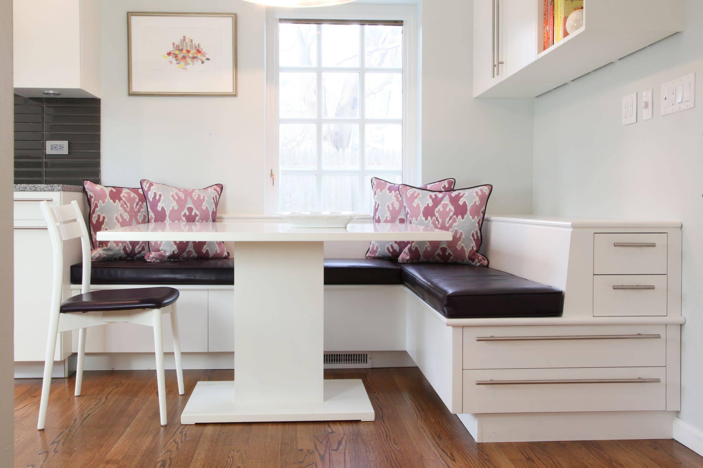 Кухонный уголок для маленькой кухни (46 фото): размеры мини-групп, выбор небольших мягких узких и других уголков