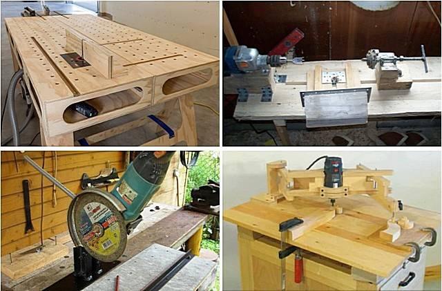 Самодельные станки и приспособления для домашней мастерской: изготавливаем своими руками