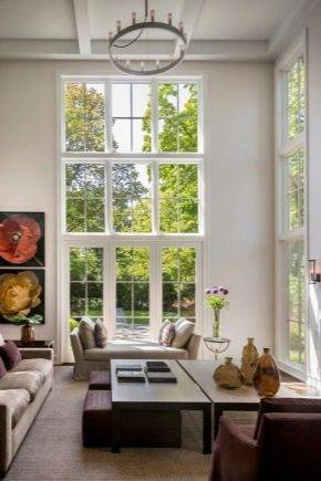Французские окна – виды, характеристики, плюсы и минусы + фото