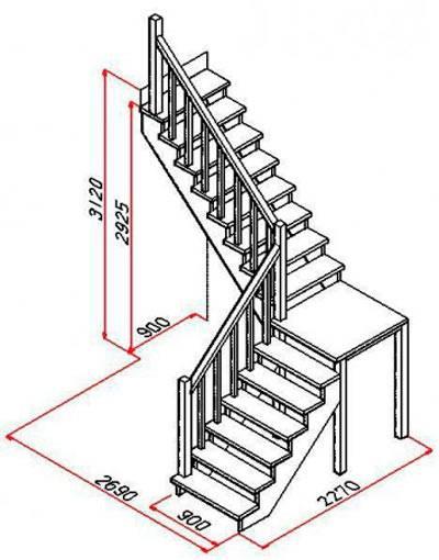 Как сделать мансардную лестницу?