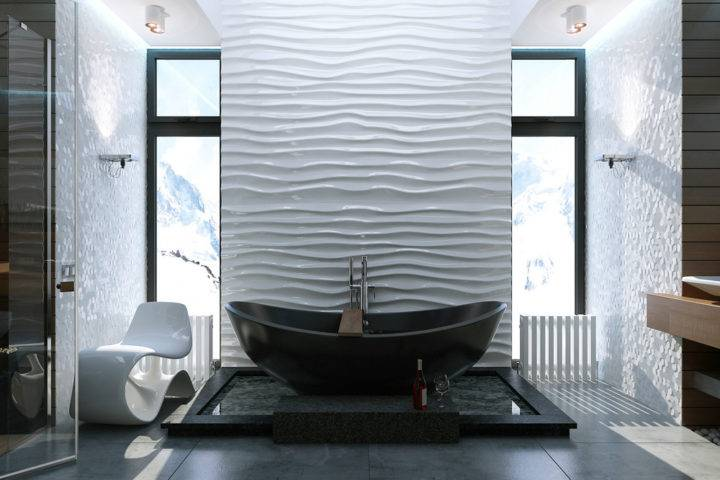 Как крепить панели пвх к стене в ванной  21 фото с примерами - все про гипсокартон