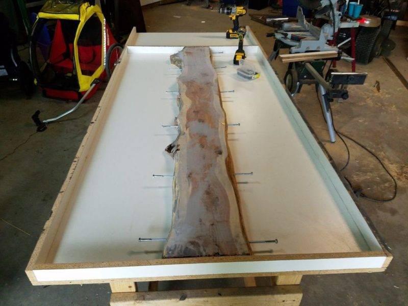 Столешницы из бетона своими руками - инструкция изготовления