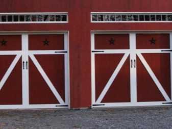 Изготовление и установка ворот для гаража своими руками