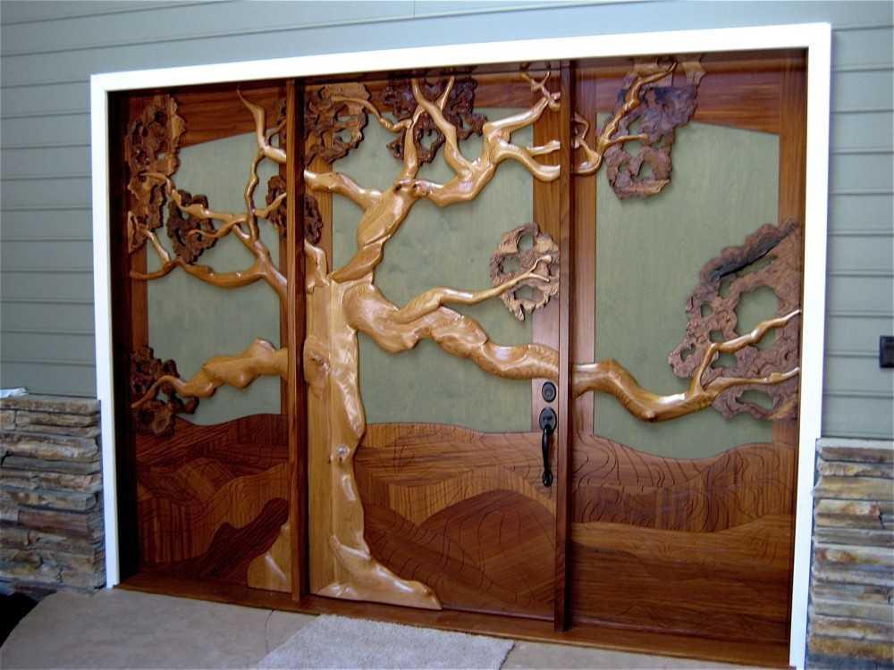 Дверь из дерева своими руками: пошаговая инструкция с видео