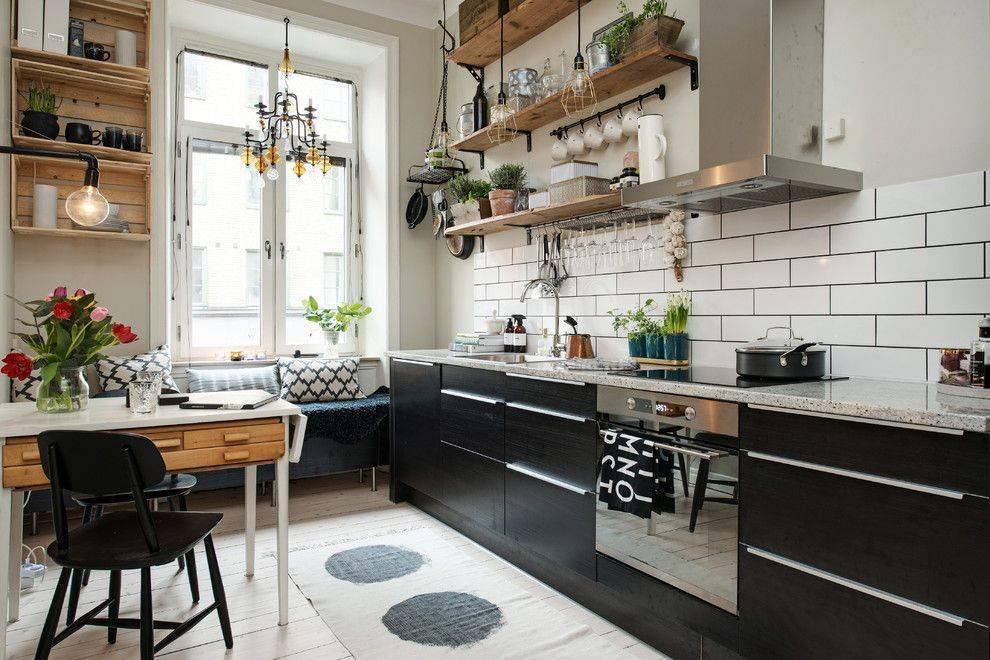 Дизайн кухни в скандинавском стиле