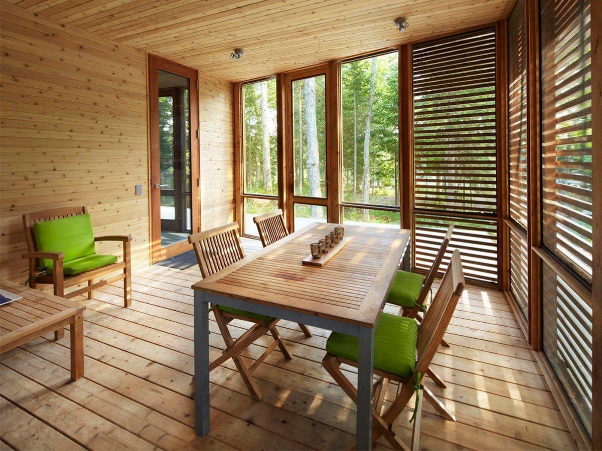 Дизайн террасы, стили и виды интерьера - фото примеров