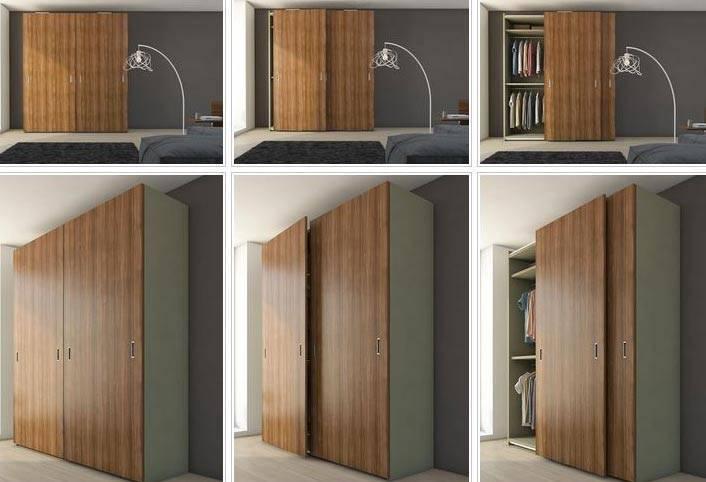 Двери для шкафа купе своими руками: расчет размеров, сборка и установка
