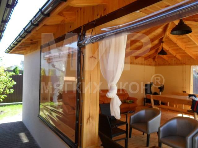 Мягкие окна для веранды рулонные для вашего комфорта