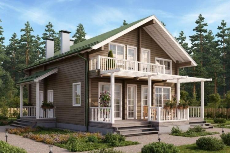 Одноэтажные дома с террасой: идеи по обустройству на фото
