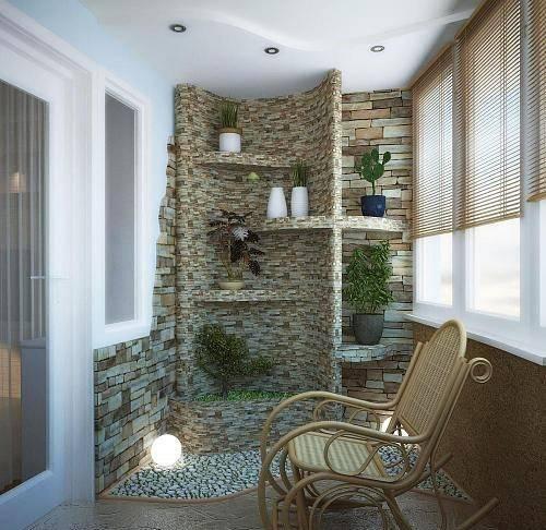 Варианты отделки балкона в квартире изнутри и снаружи