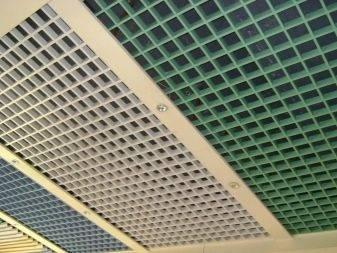 Потолок грильято: специфика конструкции, особенности монтажа.