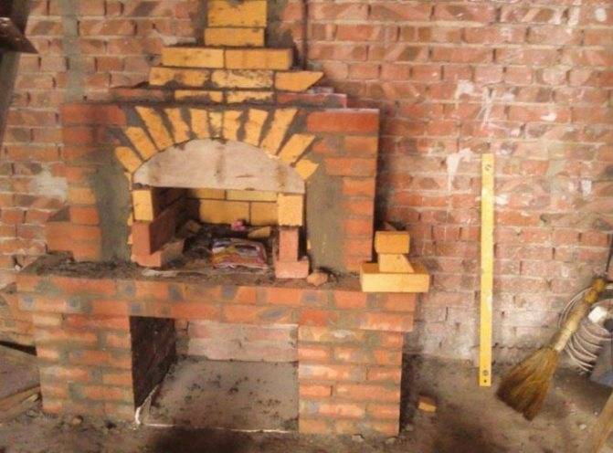 Печь барбекю своими руками - от чертежа и порядовки до готовой печки