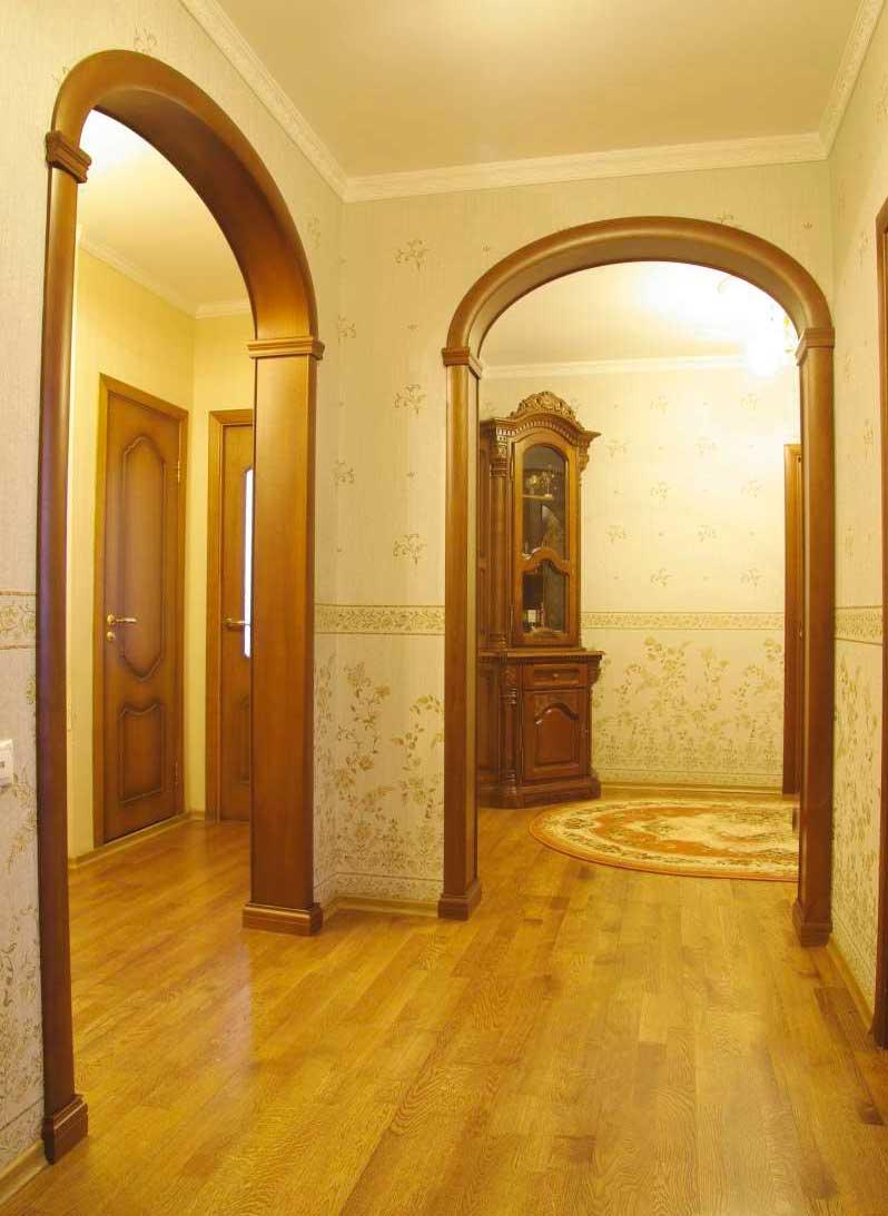 Арка из гипсокартона – пошаговая инструкция создания дверного проема своими руками (100 фото)