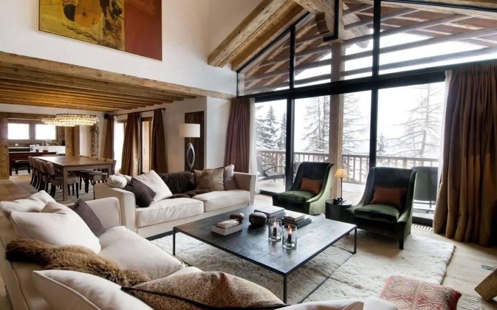 Гостиная в стиле кантри: 100 фото красивых идей в квартире и доме