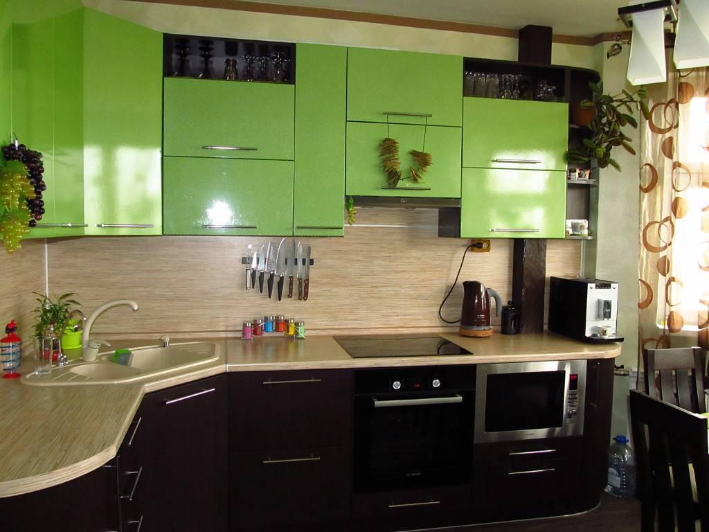 Какой может быть кухня цвета лайм: 50 фото интерьеров кухни лайм