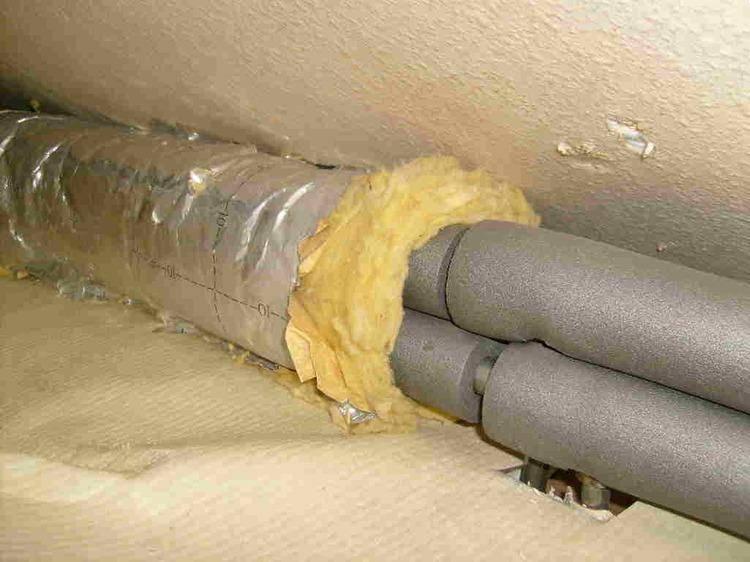 Утеплитель для труб из вспененного полиэтилена - отопление и водоснабжение от а до я