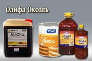 Основные характеристики и применение олифы