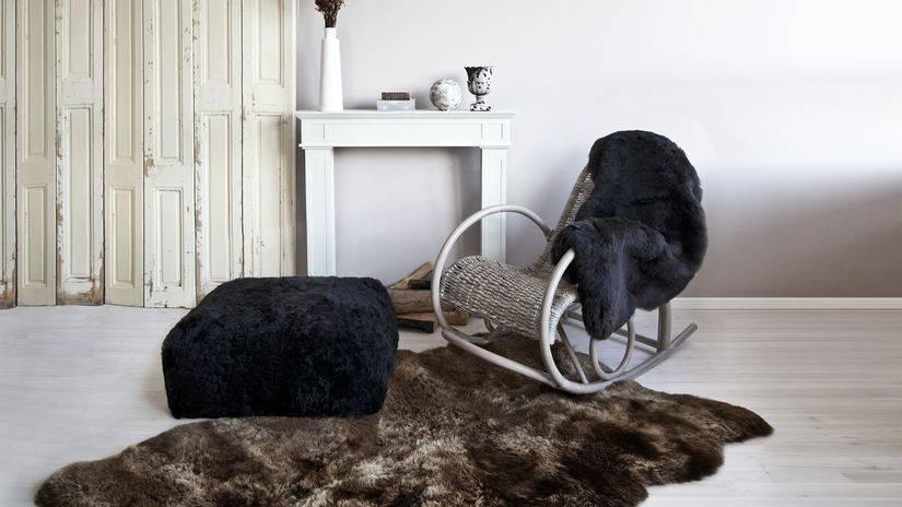 Использование животных шкур, кожи и мехов в интерьере квартиры