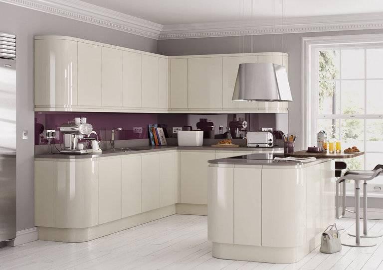 Цвет слоновой кости в интерьере кухни — фото безупречного стиля