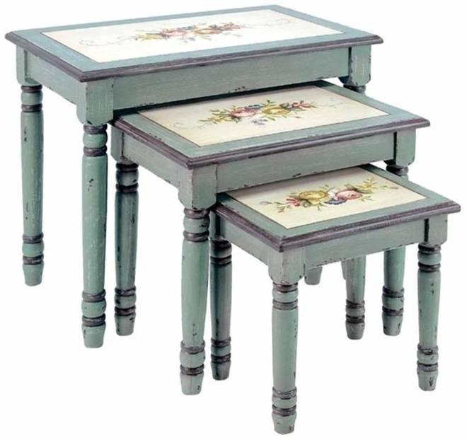 Декупаж стола: 6 способов красиво оформить поверхность