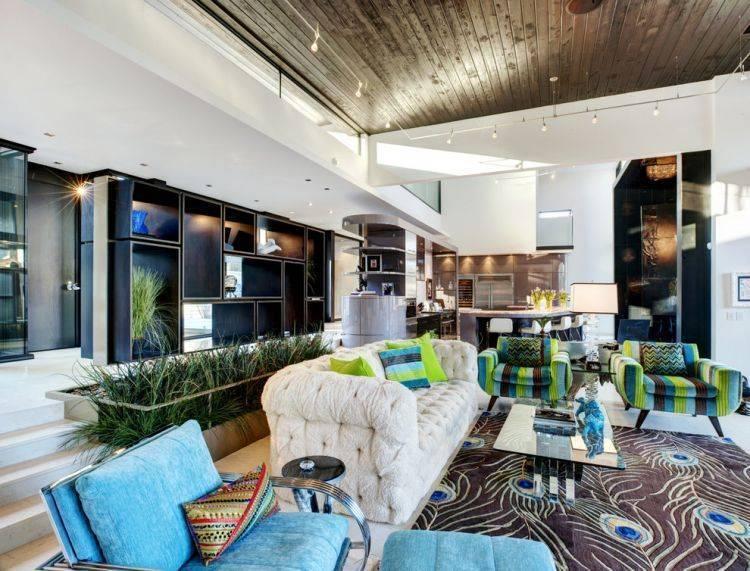 Гостиная в частном доме - 95 фото красивых вариантов оформления. нюансы оформления, планировка помещения.