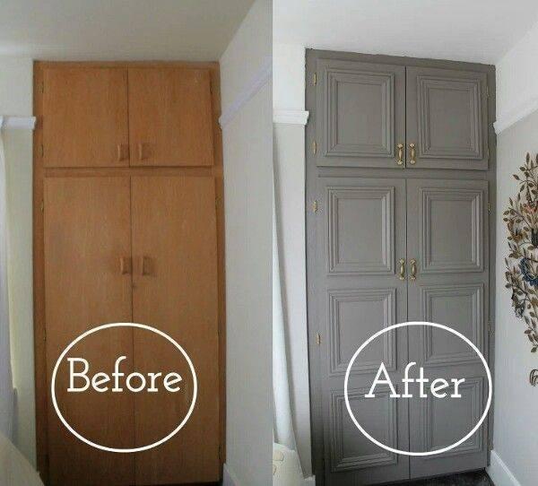 Как обновить дверь своими руками, реновируем старые межкомнатные конструкции