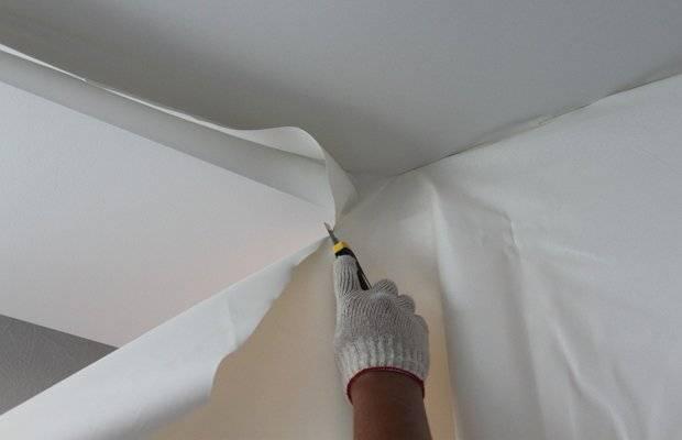 Плюсы и минусы натяжного тканевого потолка