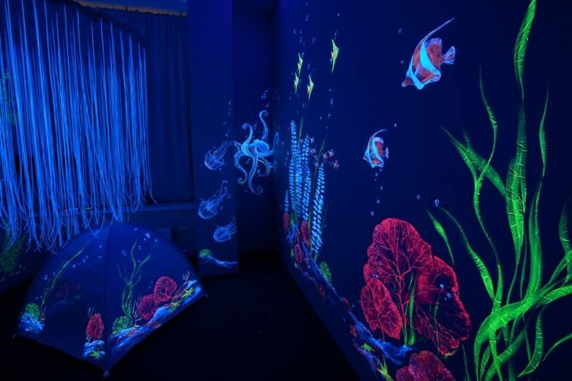 Светящаяся краска: люминесцентные, флуоресцентные, фосфорные составы и варианты их применения