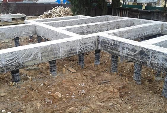 Фундамент тисэ - сваи с расширенным основанием,специальный бур
