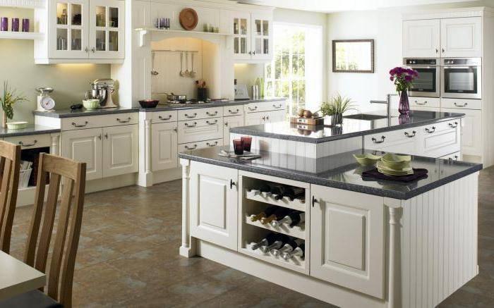 Стандартная высота столешницы на кухне от пола: рассматриваем вместе