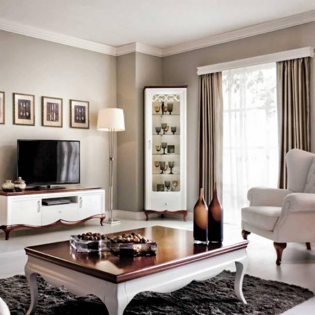 Буфет для гостиной (37 фото): современные угловые комоды и витрины для посуды в стиле «классика»
